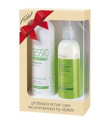 Набор для поврежденных волос с кератином Sessio Professional Chantal